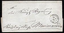Preußen FLATOW nachverwendet Brief 27.7.68 n. Marienwerder, voller Inhalt