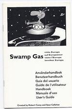 Swamp Gas User `s Guide, Benutzerhandbuch auf deutsch