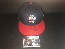 Drew Waters Atlanta Braves Autographed Signed 2016 Game Used Hat Cap 7
