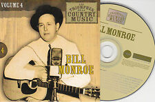 CD CARDSLEEVE 25T BILL MONROE BEST OF 2002 LES TRIOMPHES DE LA COUNTRY