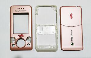 Pink Fascia case faceplate facia housing cover Sony Ericsson W580 W580i Pink