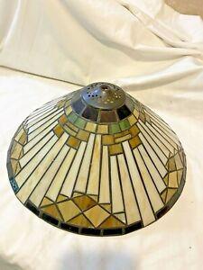 "Tiffany Mission Style Lamp Light Shade 15"""