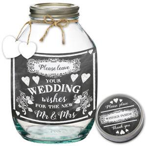 New Mum/ Wedding Words & Wishes Jar