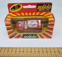 Solido metal 1/43 Scale - 1208 Renault 5 Maxi  red opal Turbo Rally die cast car