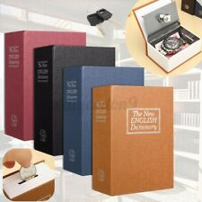 Dictionary Book with Secret Safe w/2 Keys+ Lock Money Jewellery Cash Hiden Box
