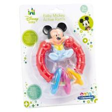 DISNEY BABY MICKEY MOUSE ACTIVITY RATTLE TEETHING RING TOY