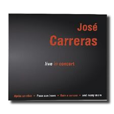 Jose Carreras-Live in Concert-CD-NEUF emballage d'origine