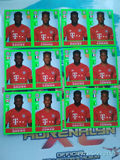 2020 PANINI FIFA ALPHONSO DAVIES INVEST LOT(6) FIRST RARE ROOKIE RC STICKERS🔥