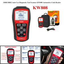 ODB OBD2 Auto Car Vehicles Diagnostic Tool Scanner KW808 Automotive Code Reader