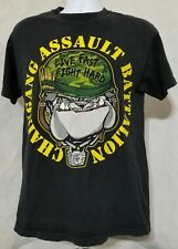 Vtg WWE John Cena Chain Gang Assault Battalion Black T-Shirt Mens Medium