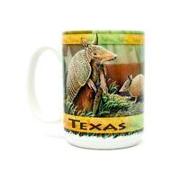 Texas Armadillos Cuppa Mug 15 Oz. Coffee Tea Cup Mug