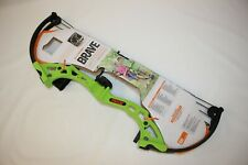 NEW Bear Brave Youth Compound Bow Package, Green, RH, 15-25lb.   AYS300GR