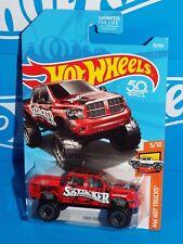 Hot Wheels 2018 HW Hot Trucks Series #10 RAM 1500 Red Skyjacker