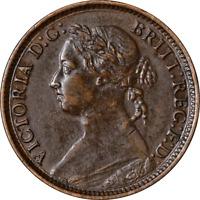Great Britain Farthing 1881 KM #753 XF