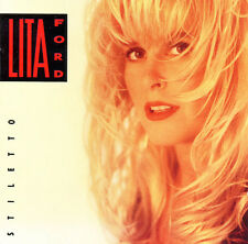 "LITA FORD ""STILLETTO"" CD 1990 BMG SPITFIRE RCA RECORDS *EXCELLENT USED COPY!*"