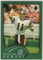 2002 Topps Football Washington Redskins Team Set