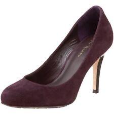 Cole Haan NEW NIB Dark Aubergine Purple Suede Air Talia Heel 6 6B B Heels Pumps