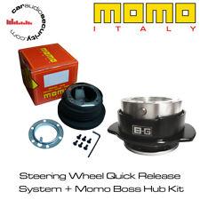MOMO HUB ADAPTOR BOSS KIT FOR STEERING + QUICK RELEASE SYSTEM KIT