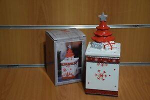 Scatola in Ceramica Decorazione di Natale Idea Regalo Esclusiva Originale