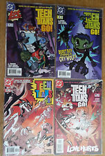 LOT DC COMICS US / TEEN TITANS GO ! N°1 A 4 - 2004 - TBE.