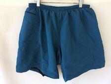 NASHBAR sz XXL Blue Baggy Nylon Bicycle Shorts USA Padded Vtg
