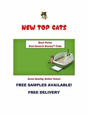 "Top Cat Generic Cat Litter Box Pads All 16.9""x11.4"" Boxes Save Free Samples"