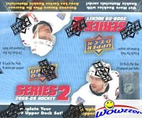 2008/09 Upper Deck Series 2 Hockey MASSIVE 24 Pack Sealed Retail Box-192 Cards