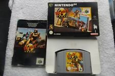 BLAST CORPS NINTENDO 64 N64 PAL BOXED FAST POST ( action/adventure game )