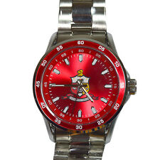 Kappa Alpha Psi Silver Crest Quartz Watch