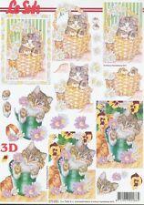 Feuille 3D à découper A4 - 777.255 Chat chaton - Decoupage Cat