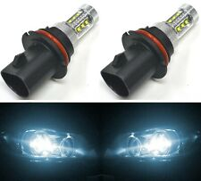 LED 80W 9004 HB1 White 6000K Two Bulbs Head Light Replacement Off Road Lamp