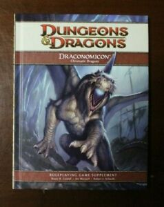 Dungeons & Dragons Dragonomicon Chromatic Dragons Roleplaying Game Supplement