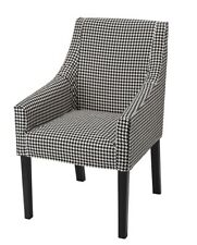 IKEA SAKARIAS Armchair Cover VIBBERBO Black White (COVER ONLY) BRAND NEW~Sealed!