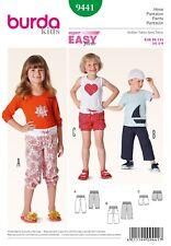 Simplicity Burda Kids Sewing Pattern Children B9441
