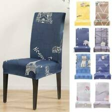 1pcs Stretch Spandex Chair Covers Removable Slipcovers Seat Cover Dining Party