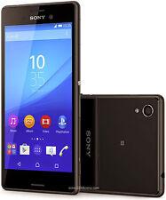 "Sony Xperia M4 Aqua Dual E2363 16GB 5.0"" 13MP GPS Smartphone BLACK"