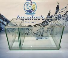 NEW 43L Glass DISPLAY Aquarium 60cm Fish Tank With SIDE SUMP Marine & Freshwater