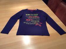 Tom Tailor Mädchen Langarmshirt, blau, Gr.164, NEU!