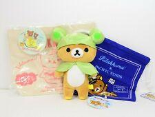San-X Rilakkuma Plush & Drawstring bag & Mini Tote bag cute Kawaii /k93