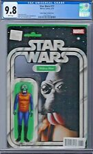 STAR WARS # 17 Action Figure Variant Cover CGC 9.8 Marvel 2015