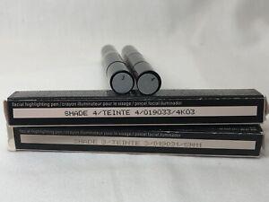 New In Box Mary Kay Facial Highlighting Pen Shade 3 (019031) & Shade 4 (019033)