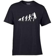 EVOLUTION of TENNIS sport Hobbies game men`s Fun T Shirt Birthday Gift S to 5XL