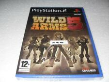 Jeu vidéo WILD ARMS 5 Sony playstation 2 play PS2 (playstation 2) neuf