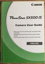 Canon Powershot SX500 es manual-Impreso & profesionalmente Atado Talla A5-Nuevo