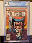 Wolverine Limited Series #1 CGC 9.8 White Pages 1st Solo Wolverine App