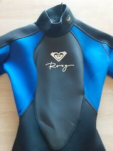 Roxy Syncro Hyperstretch 2/2 Girls/Womens Shorty Wetsuit — Size 2/30