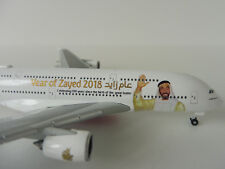 EMIRATES Airbus A380-800 YEAR OF ZAYED 2018 1/500 Herpa 531535 A 380 A380