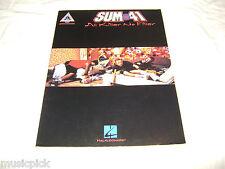 Sum 41 All Killer No Filler Guitar Recorded Versions NEW SONG BOOK