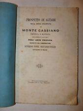 Arte Figulina, Servanzi Collio: Prospetto Altare Cassino Macerata 1870 Camerino
