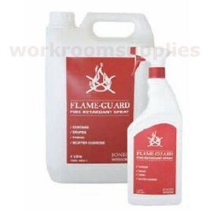 1 Litre Fire & Flame Retardant Spray for Curtains, Fabrics, Soft Furnishings